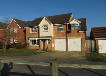 Thumbnail 5 bedroom detached house to rent in Canterbury Close, Belmont, Hereford