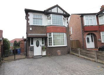 Thumbnail 3 bed detached house for sale in Keswick Avenue, Flixton, Urmston, Manchester