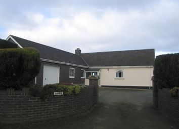 Thumbnail 3 bedroom detached bungalow to rent in Llandre, Cefn Road, Fishguard.