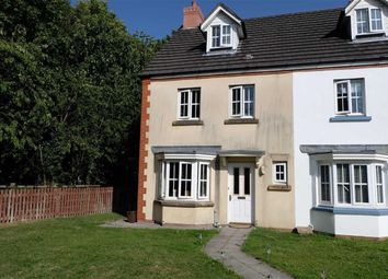 Thumbnail 4 bed end terrace house for sale in Heol Y Dolau, Bridgend, Mid Glamorgan