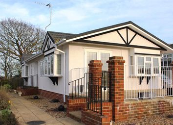 Thumbnail 2 bed mobile/park home for sale in Oak Tree Lane, Eastbourne