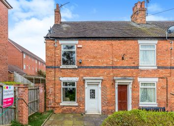 Thumbnail 2 bed end terrace house for sale in Chorlton Terrace, Uttoxeter