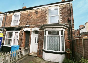 Thumbnail 2 bedroom terraced house for sale in Dover Crescent, Folkestone Street, Hull