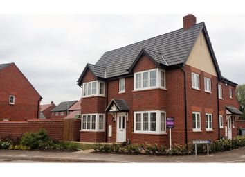 Thumbnail 3 bed semi-detached house for sale in Mallard Avenue, Nantwich