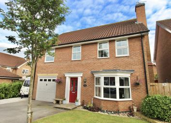 Thumbnail 4 bed detached house for sale in Fair View Close, Gilberdyke