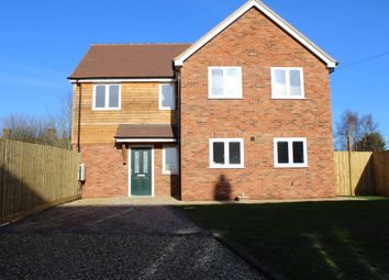 Thumbnail 4 bed detached house for sale in Old Bothampstead Road, Beedon, Newbury