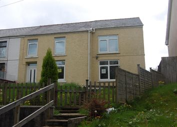 Thumbnail 3 bed semi-detached house to rent in Upper Station Road, Garnant, Ammanford