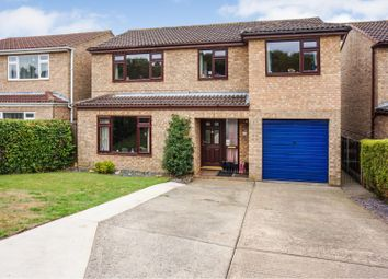 Thumbnail 4 bed detached house for sale in Lindrick Close, Heighington, Lincoln