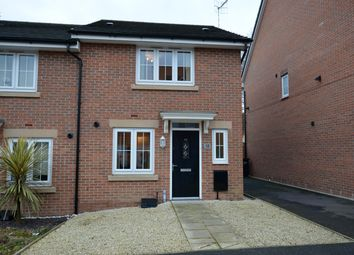 Thumbnail 3 bed town house for sale in Maudesley Avenue, Chesterfield