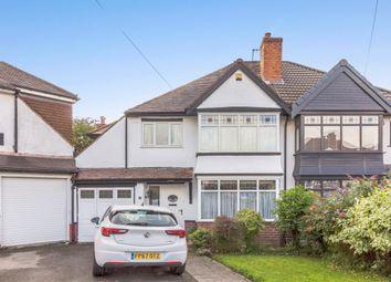 Thumbnail 4 bed semi-detached house for sale in Goodrest Avenue, Halesowen, West Midlands