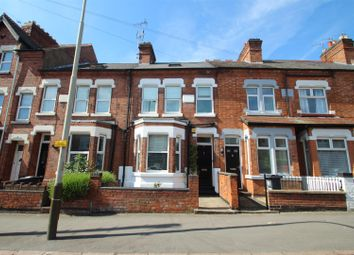 Thumbnail 4 bedroom terraced house for sale in Clarendon Park Road, Leicester