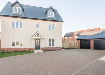 Thumbnail 5 bedroom detached house for sale in Robin Close, Holt