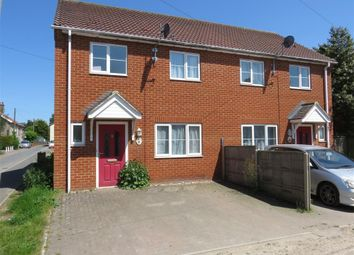 Thumbnail 3 bed semi-detached house to rent in New North Road, Attleborough