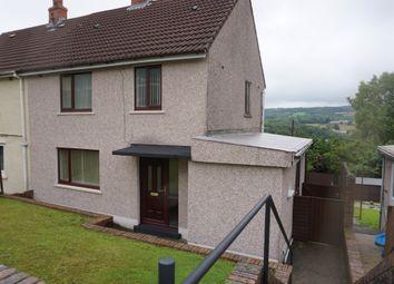 Thumbnail 3 bed semi-detached house for sale in Heol Llethryd, Pontyberem, Llanelli