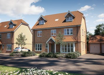 "Thumbnail 5 bed detached house for sale in ""The Carnarvon"" at Tile Barn Row, Woolton Hill, Newbury"