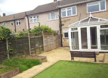 Thumbnail 3 bed terraced house to rent in Pastures Way, Luton