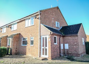 Thumbnail 3 bed end terrace house for sale in Gulliver Close, Kempston, Bedford