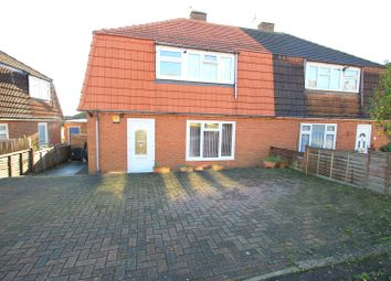 Thumbnail 3 bed semi-detached house for sale in Robson Drive, Hoo, Kent
