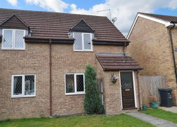 Thumbnail 2 bed semi-detached house to rent in Woodley Close, Abingdon-On-Thames