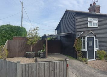 Thumbnail 2 bed cottage to rent in Stones Green, Harwich