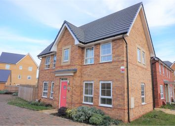 Thumbnail 3 bed detached house for sale in Brooklands, Milton Keynes