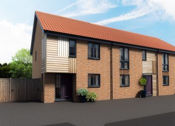 Thumbnail 2 bedroom terraced house for sale in Maple Park, Long Stratton, Norwich