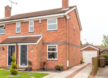 Thumbnail 2 bed semi-detached house for sale in Wharton Road, Stamford Bridge, York