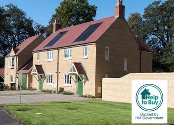 Thumbnail 3 bed semi-detached house for sale in Plot 3, Woodlands, Marriott Close, Wootton-By-Woodstock, Oxfordshire