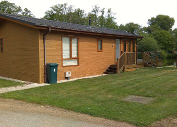Thumbnail 2 bedroom property for sale in Yew Tree Lake, Waveney Valley Lakes, Wortwell, Harleston