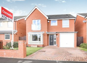 Thumbnail 4 bed detached house for sale in Oval Drive, Fordhouses, Wolverhampton