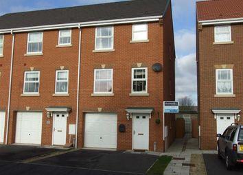 Thumbnail 4 bedroom end terrace house for sale in Charlton Close, Billingham