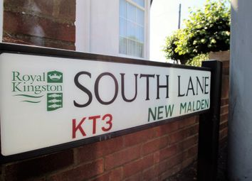Thumbnail 3 bed end terrace house for sale in South Lane, New Malden