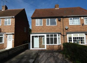 Thumbnail 3 bed semi-detached house to rent in High Street, Solihull Lodge, Solihull
