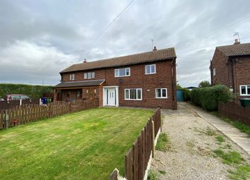 Thumbnail 3 bed semi-detached house for sale in Main Road, Temple Hirst, Selby