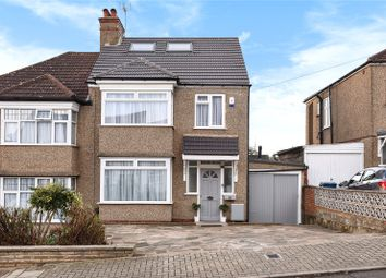 Thumbnail 4 bed property for sale in Woodcroft Avenue, Stanmore, Middlesex