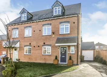 Thumbnail 4 bed semi-detached house for sale in Swan Drive, Kingshurst, Birmingham, .