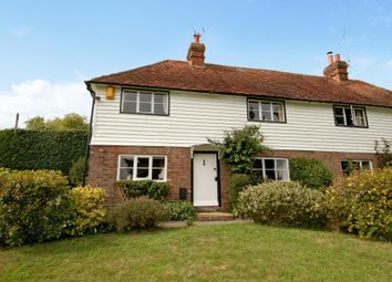 Thumbnail 2 bed semi-detached house to rent in Brenchley Road, Brenchley, Tonbridge