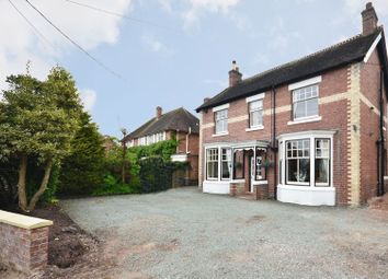 Thumbnail 4 bed detached house for sale in Ashleigh Villa, 33 Stone Road, Eccleshall, Staffordshire.