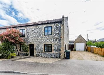 Thumbnail 4 bedroom end terrace house for sale in Mill Corner, Soham, Ely