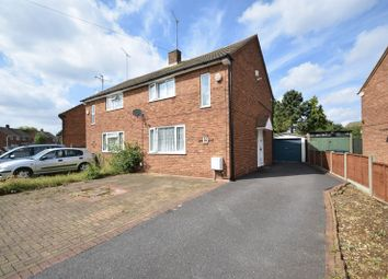 Thumbnail 3 bedroom semi-detached house for sale in Rowelfield, Luton