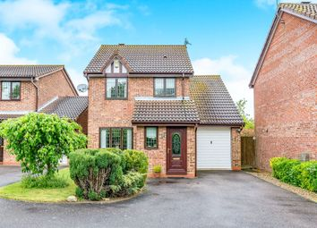 Thumbnail 3 bedroom detached house for sale in Cantle Close, Corby