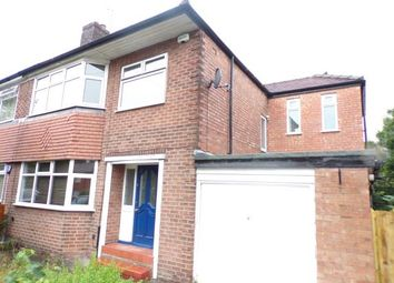 Thumbnail 4 bedroom semi-detached house for sale in Parrs Wood Road, Didsbury, Manchester, Gtr Manchester
