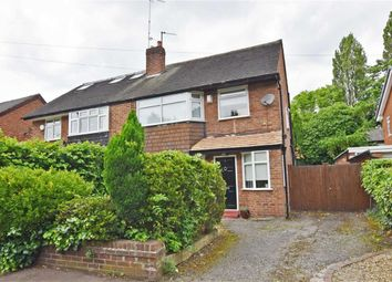 Thumbnail 3 bed semi-detached house for sale in Circular Road, Didsbury, Manchester