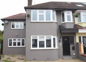 Thumbnail 4 bed end terrace house for sale in Willow Close, Buckhurst Hill, Essex