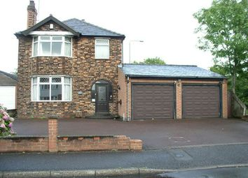Thumbnail 3 bed detached house for sale in Abbott Road, Alfreton