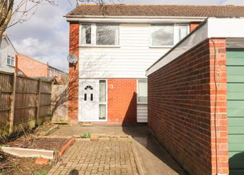Thumbnail 3 bed end terrace house to rent in Conrad Close, Swindon