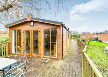 Thumbnail 3 bedroom mobile/park home for sale in Goose Island, Billing Aquadrome, Crow Lane, Northampton