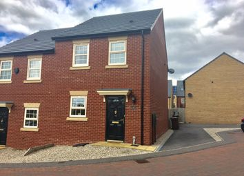 Thumbnail 3 bed semi-detached house for sale in Fallbrook Road, Castleford