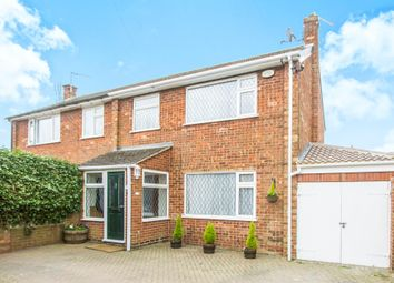Thumbnail 3 bedroom semi-detached house for sale in Adrian Drive, Barwell, Leicester
