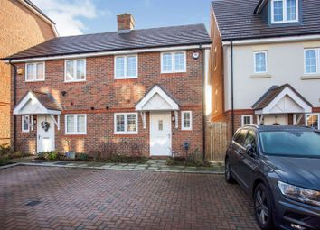 Thumbnail 3 bed semi-detached house for sale in Gloucester Close, Knaphill